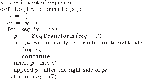 Figure 1 for Anomaly Sequences Detection from Logs Based on Compression