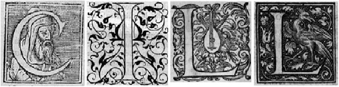 Figure 1. Drop Caps Examples