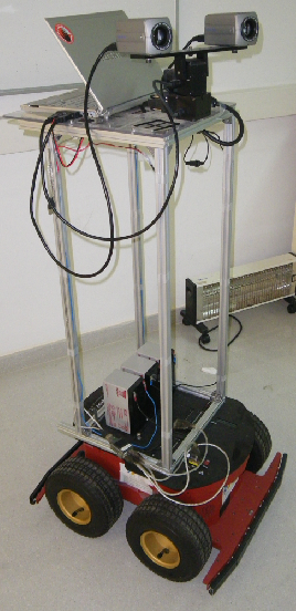 Figure 2 for Evaluation of Three Vision Based Object Perception Methods for a Mobile Robot