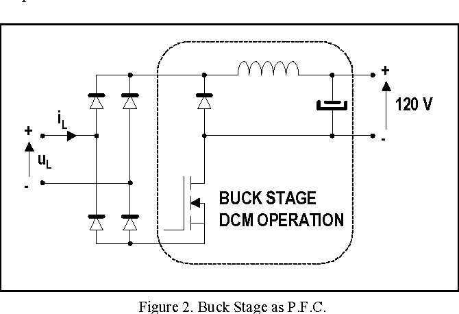 Figure 2 From Complete Low Cost Two Stage Electronic Ballast For 70