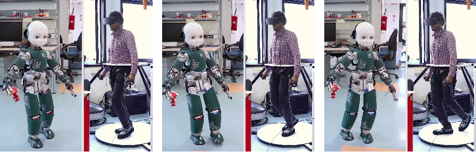 Figure 2 for Telexistence and Teleoperation for Walking Humanoid Robots