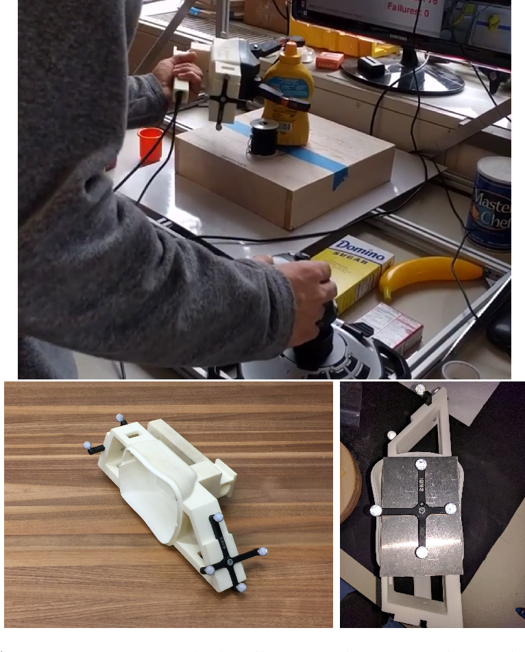 Figure 1 for A dataset of 40K naturalistic 6-degree-of-freedom robotic grasp demonstrations