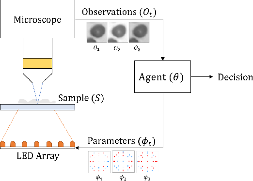 Figure 1 for Towards an Intelligent Microscope: adaptively learned illumination for optimal sample classification