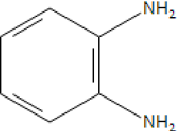 Figure 7: The chemical structure of OPD (1,2-diaminobenzene).