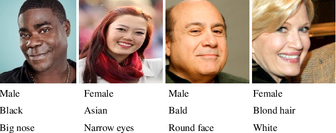 Figure 3 for Feature Level Fusion from Facial Attributes for Face Recognition