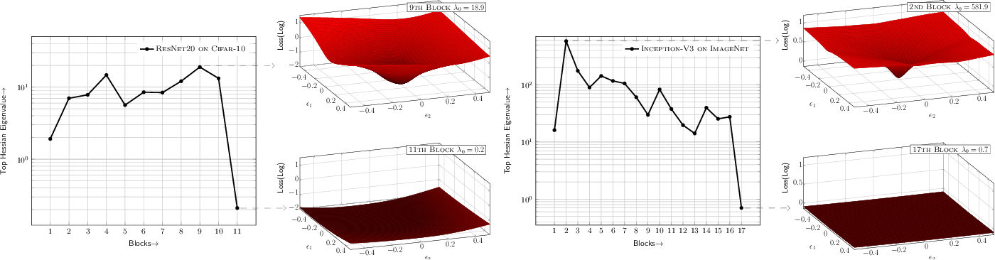Figure 1 for HAWQ: Hessian AWare Quantization of Neural Networks with Mixed-Precision