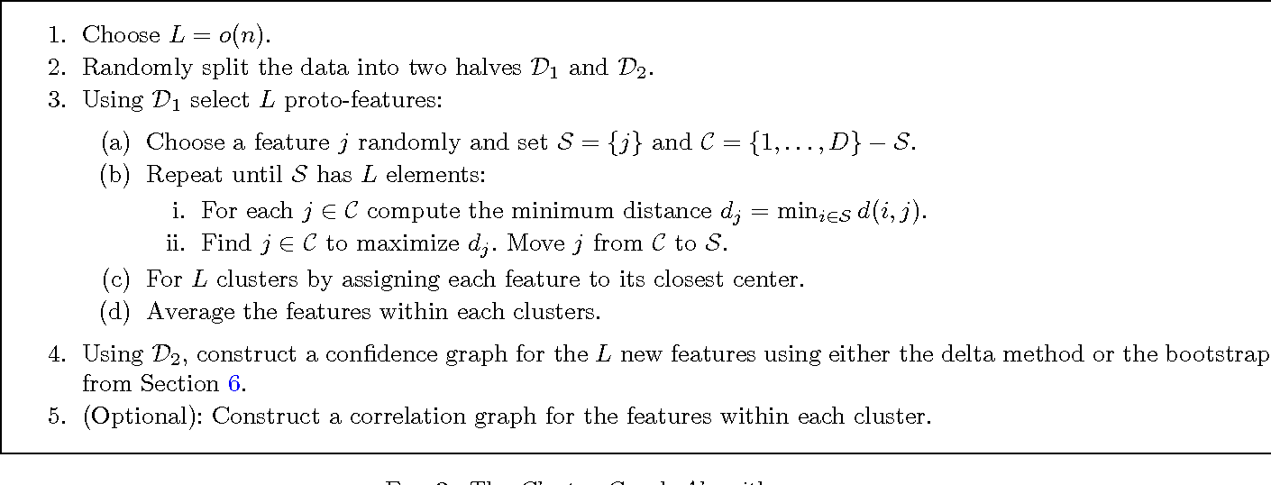 Figure 3 for Estimating Undirected Graphs Under Weak Assumptions