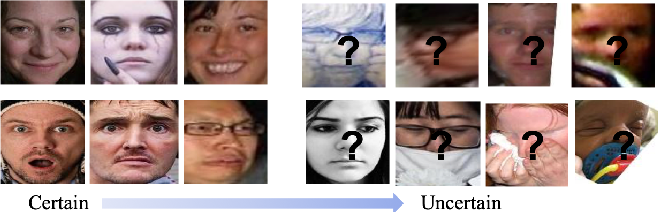 Figure 1 for Suppressing Uncertainties for Large-Scale Facial Expression Recognition