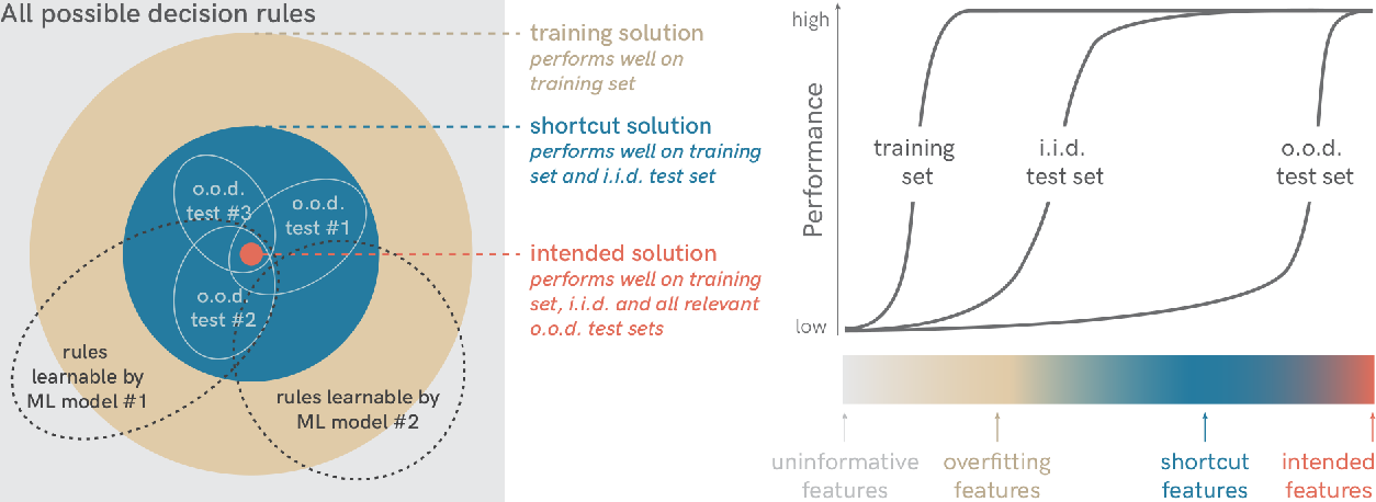 Figure 2 for Shortcut Learning in Deep Neural Networks