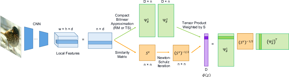 Figure 1 for Compact Approximation for Polynomial of Covariance Feature