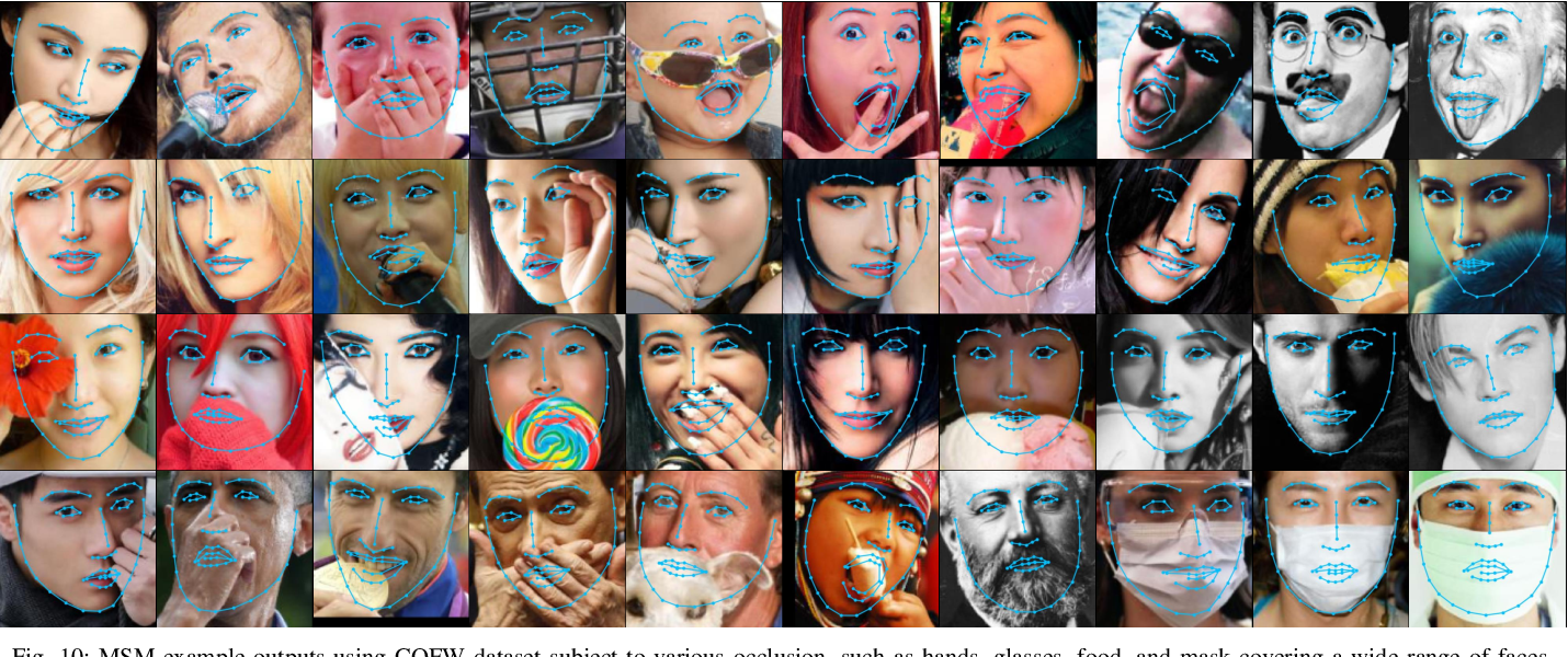 Figure 2 for Multistage Model for Robust Face Alignment Using Deep Neural Networks