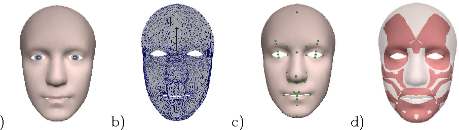 Transferring a Labeled Generic Rig to Animate Face Models - Semantic