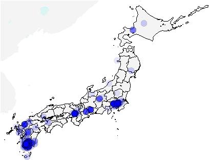 Figure 3 for Density Estimation for Geolocation via Convolutional Mixture Density Network
