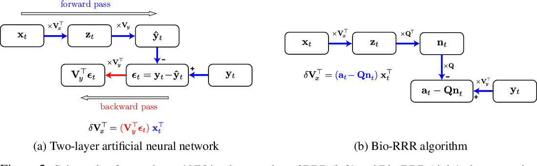 Figure 3 for A simple normative network approximates local non-Hebbian learning in the cortex
