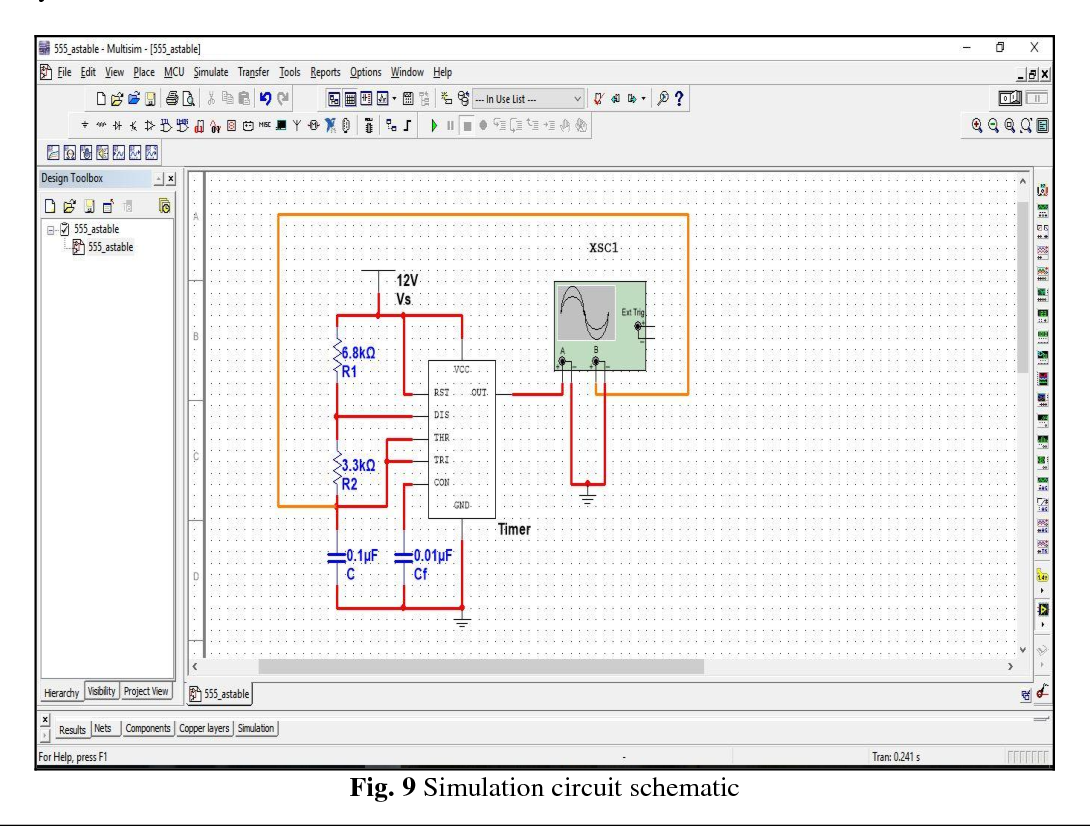 PDF] Design and Implementation of Astable Multivibrator using 555