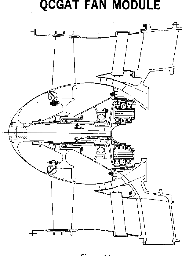 Figure 13 From Qcgat Aircraftengine Design For Reduced Noise And