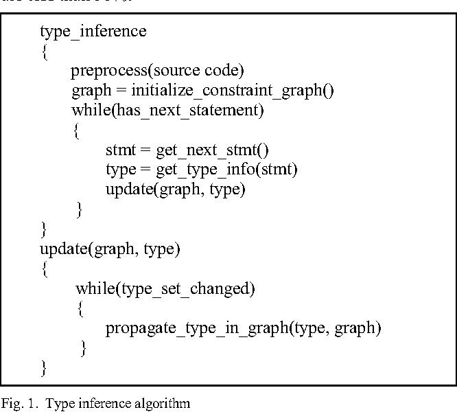 Static Type Analysis for Python - Semantic Scholar