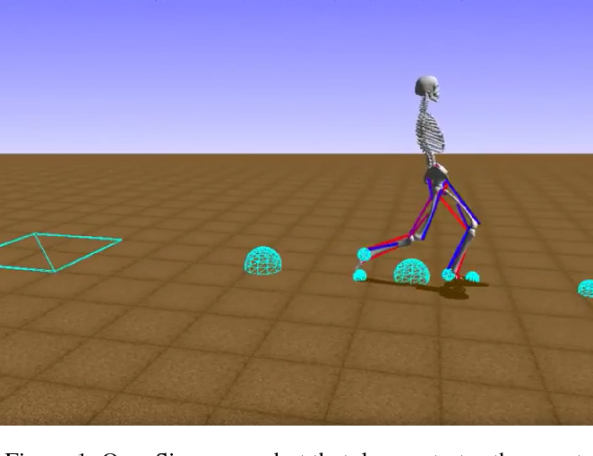 Figure 1 for Run, skeleton, run: skeletal model in a physics-based simulation