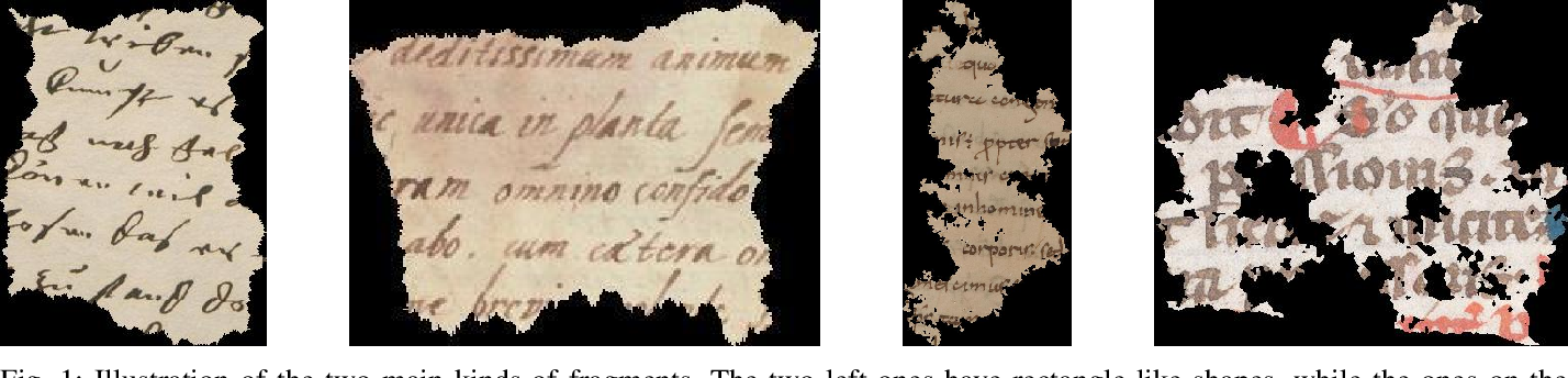 Figure 1 for ICFHR 2020 Competition on Image Retrieval for Historical Handwritten Fragments