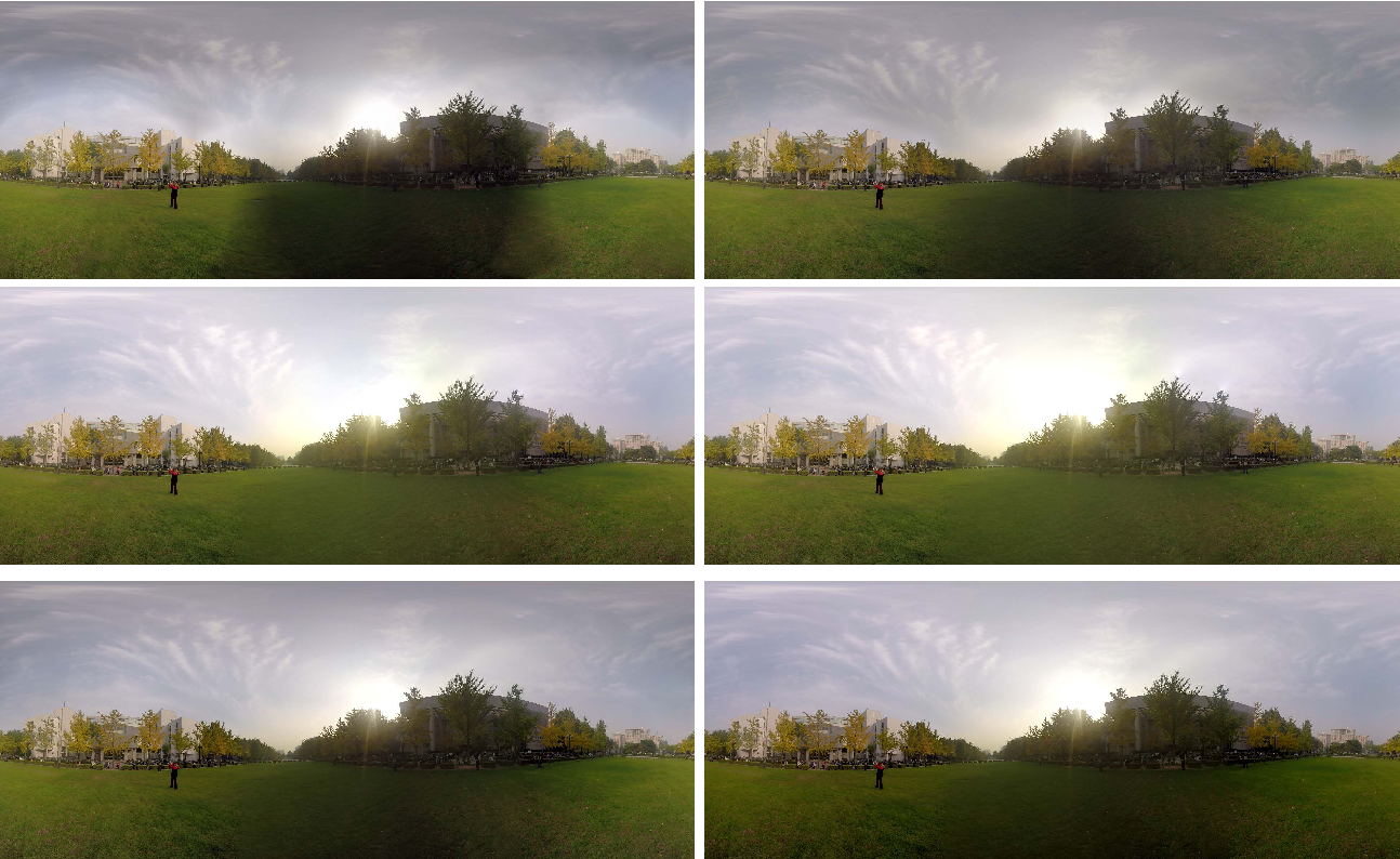 Figure 3 for A Comparative Study of Algorithms for Realtime Panoramic Video Blending