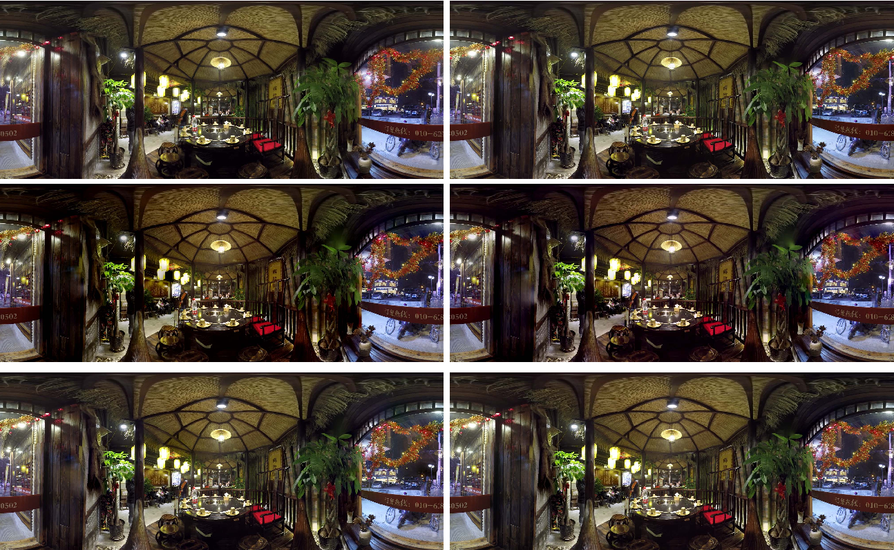 Figure 4 for A Comparative Study of Algorithms for Realtime Panoramic Video Blending