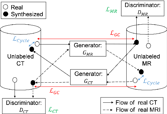 Figure 3 for Cross-modality image synthesis from unpaired data using CycleGAN: Effects of gradient consistency loss and training data size