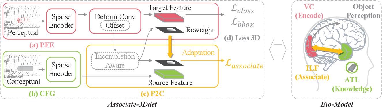 Figure 3 for Associate-3Ddet: Perceptual-to-Conceptual Association for 3D Point Cloud Object Detection