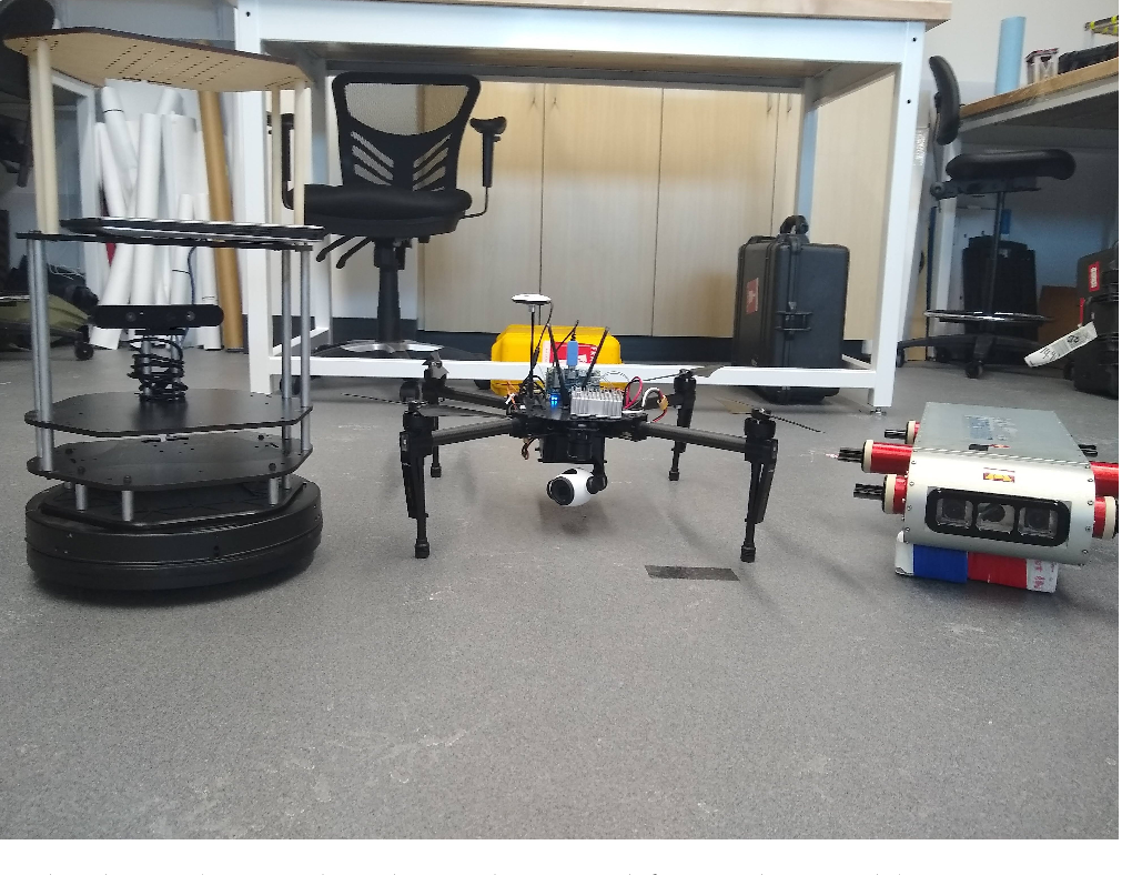 Figure 1 for By Land, Air, or Sea: Multi-Domain Robot Communication Via Motion