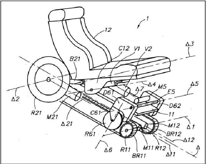 The Synthesis Of A Segmented Stair Climbing Wheel