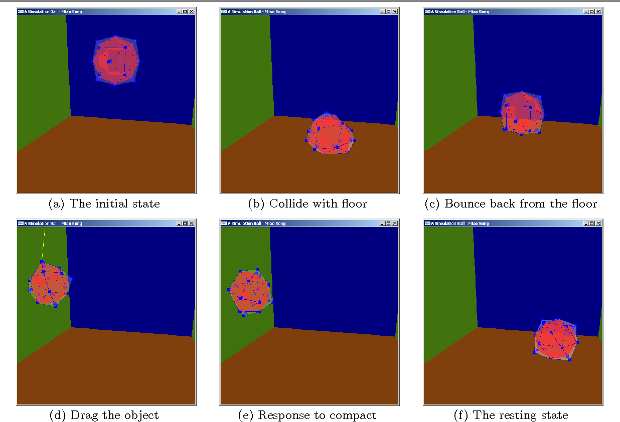 Designing an interactive OpenGL slide-based presentation of the