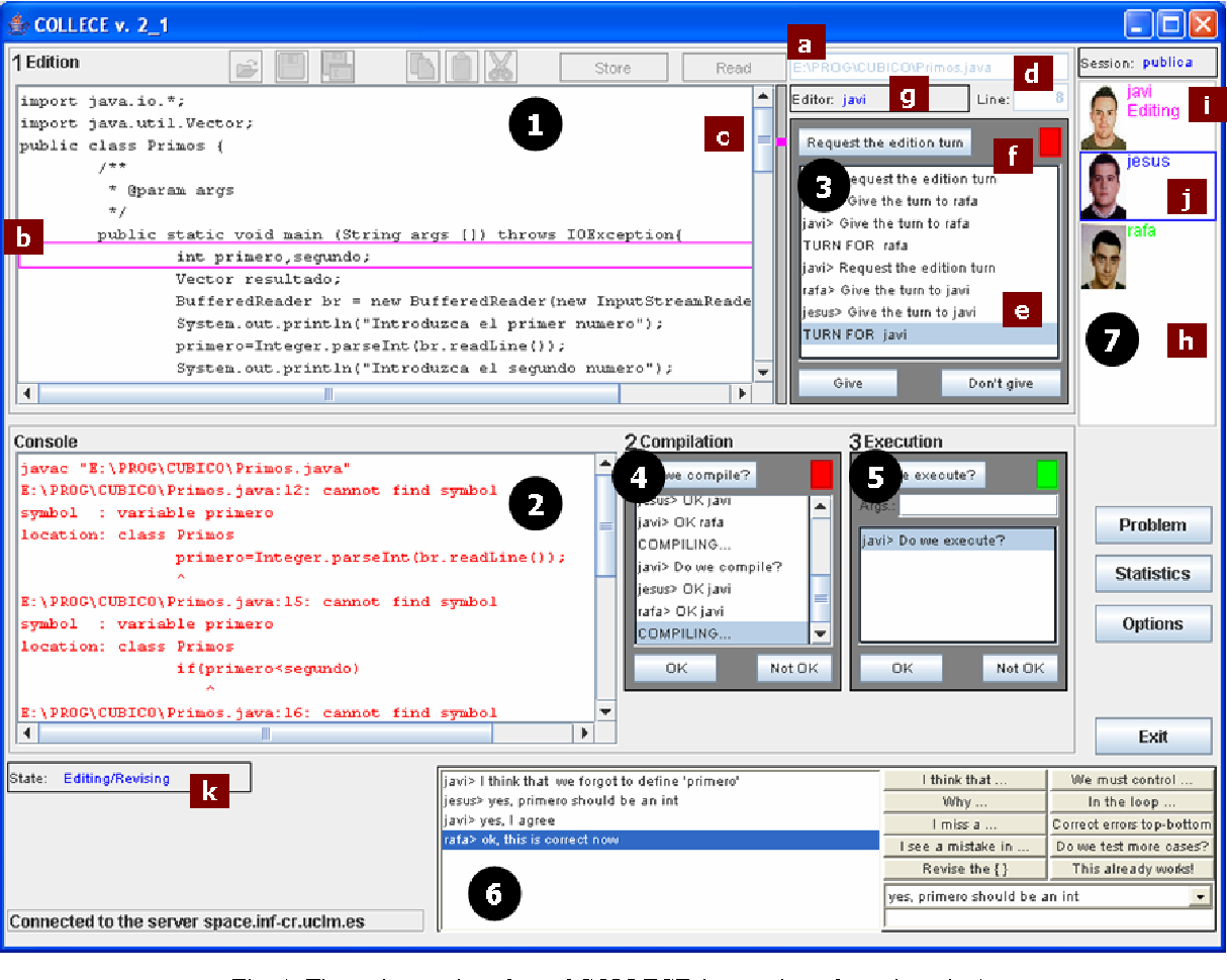 A Groupware System To Support Collaborative Programming Design And