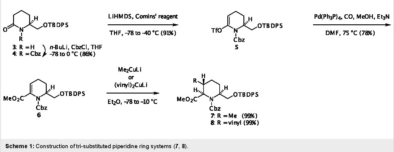 Figure 1: Representative examples of 5,8-Disubstituted Indolizidines.