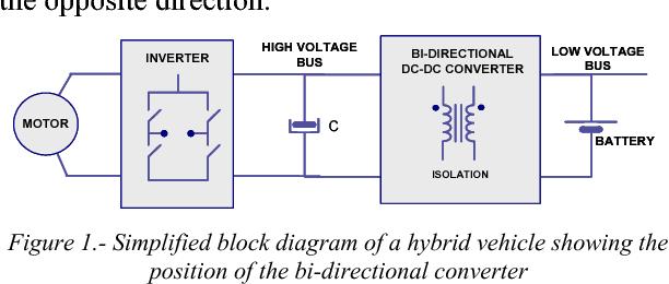 bi directional dc dc converter for hybrid vehicles semantic scholar rh semanticscholar org