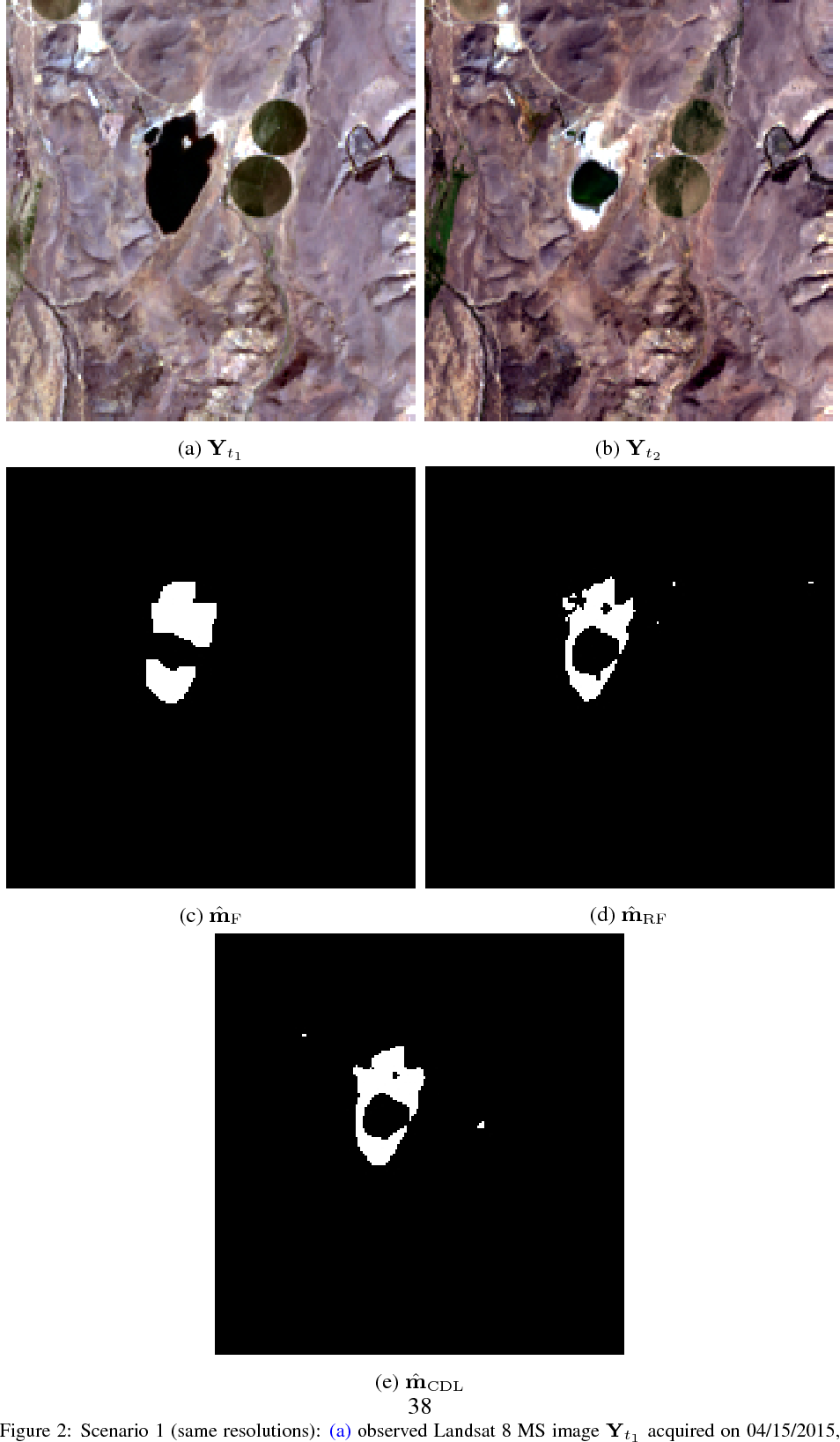 Figure 3 for Coupled dictionary learning for unsupervised change detection between multi-sensor remote sensing images