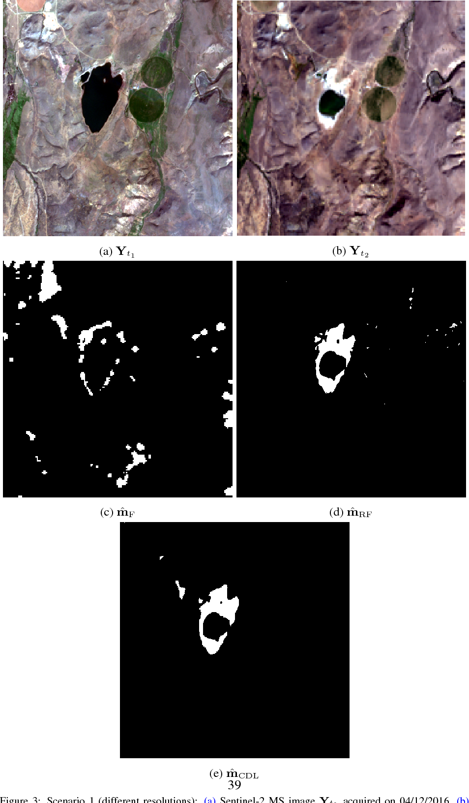 Figure 4 for Coupled dictionary learning for unsupervised change detection between multi-sensor remote sensing images