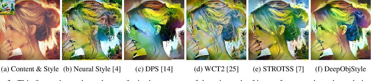 Figure 3 for DeepObjStyle: Deep Object-based Photo Style Transfer
