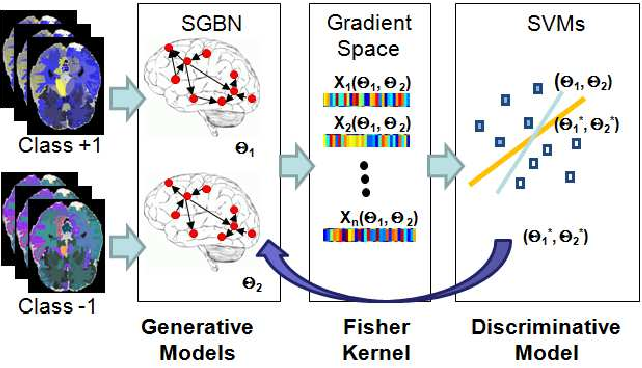 Figure 2 for Learning Discriminative Bayesian Networks from High-dimensional Continuous Neuroimaging Data