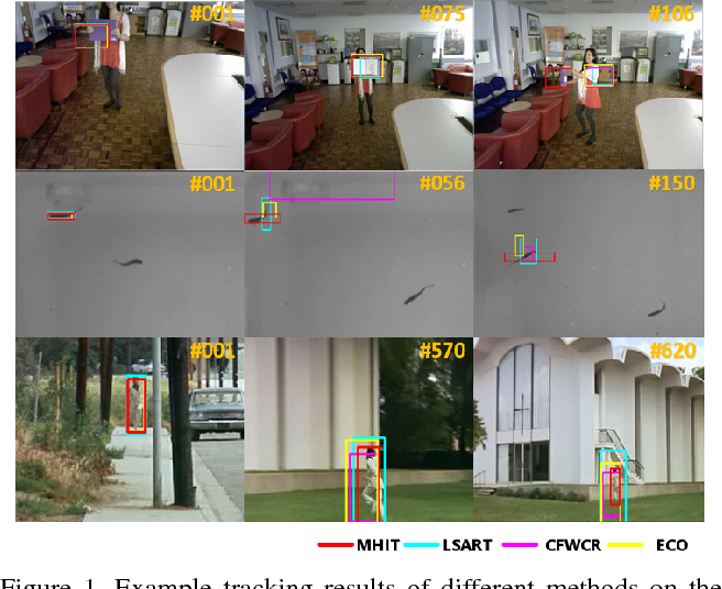 Figure 1 for Multi-hierarchical Independent Correlation Filters for Visual Tracking