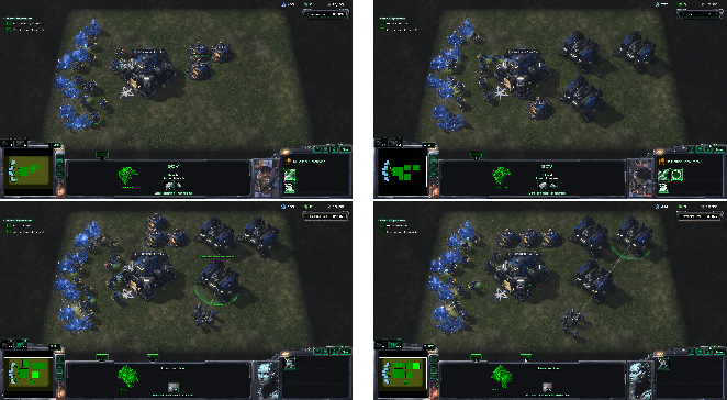 Figure 4 for Hierarchial Reinforcement Learning in StarCraft II with Human Expertise in Subgoals Selection