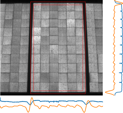 Figure 3 for Fast and robust detection of solar modules in electroluminescence images