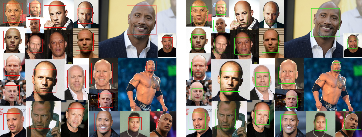 Figure 1 for Human Face Expressions from Images - 2D Face Geometry and 3D Face Local Motion versus Deep Neural Features