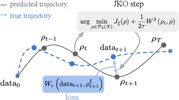 Figure 1 for JKOnet: Proximal Optimal Transport Modeling of Population Dynamics