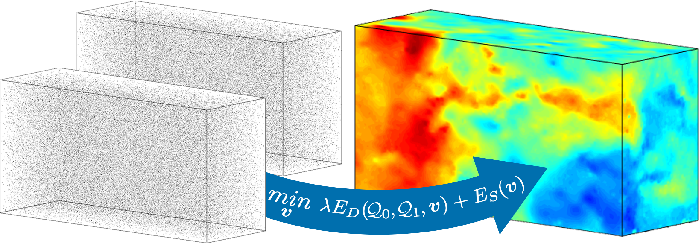 Figure 1 for Variational 3D-PIV with Sparse Descriptors