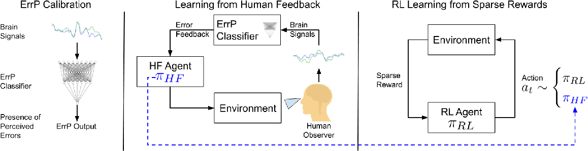 Figure 2 for Accelerated Robot Learning via Human Brain Signals