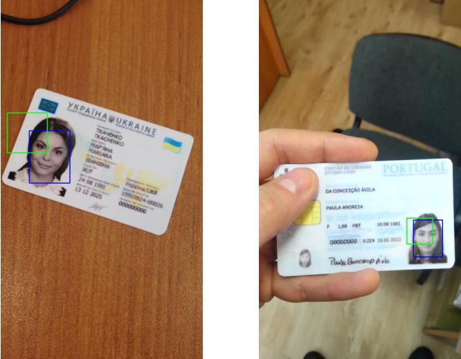 Figure 4 for Face Detection in Camera Captured Images of Identity Documents under Challenging Conditions