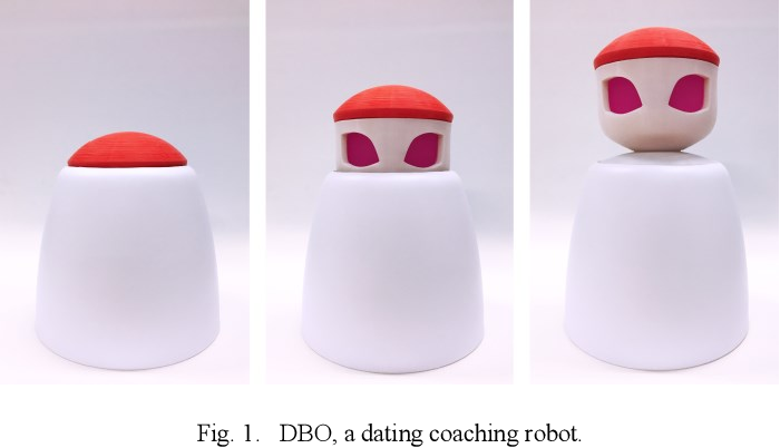 Figure 1 for A Robotic Dating Coaching System Leveraging Online Communities Posts