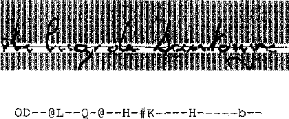 Fig. 3. A multiword city-name image (after normalization) and its feature description