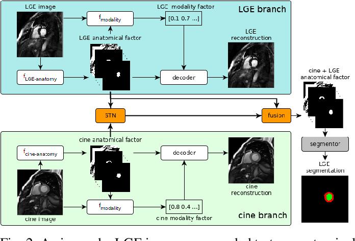 Figure 2 for Disentangle, align and fuse for multimodal and zero-shot image segmentation
