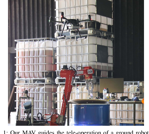Figure 1 for Autonomous Flight in Unknown GNSS-denied Environments for Disaster Examination
