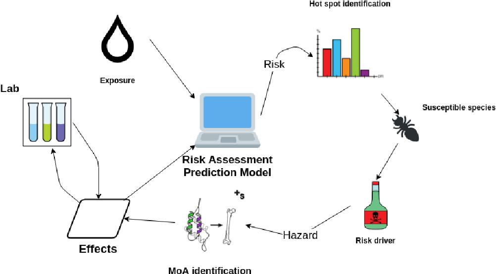 Figure 1 for Enabling Semantic Data Access for Toxicological Risk Assessment